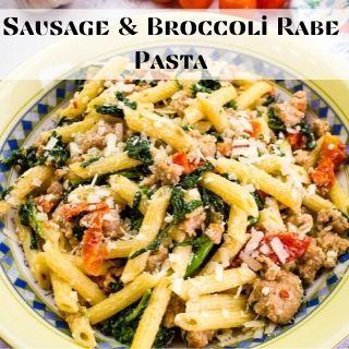 sausage and broccoli rabe pasta
