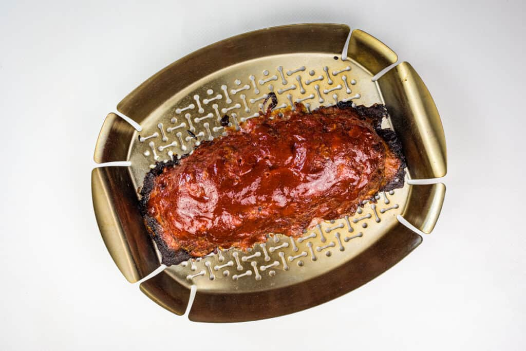 sauced smoked meatloaf