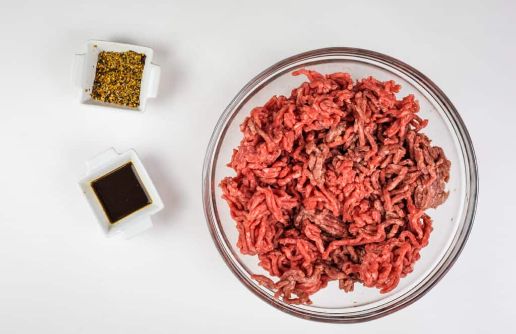 meat ingredients for over the top chili