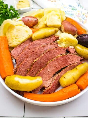 instant pot corned beef hash dinner