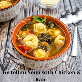 tortellini soup with chicken and kale